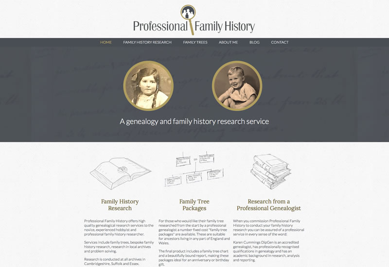 Professional Family History
