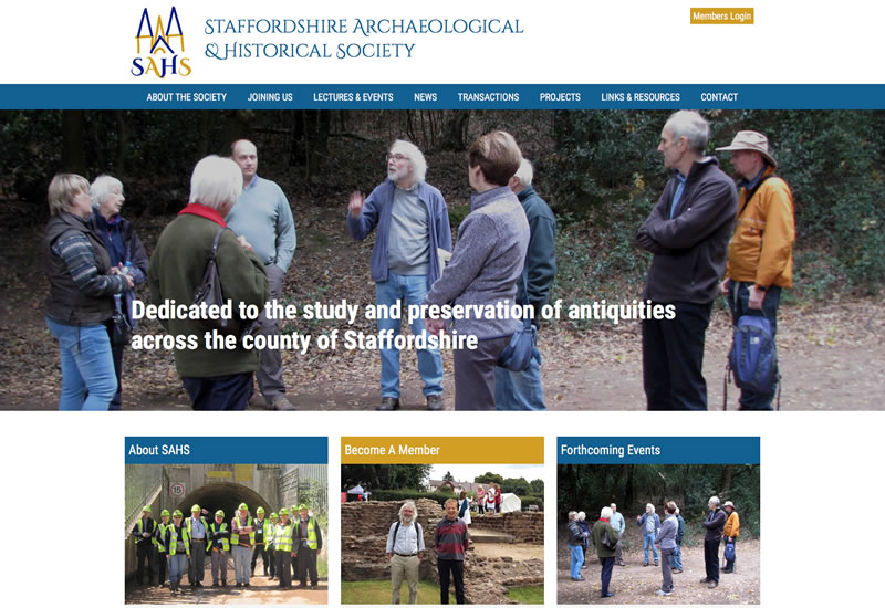 Staffordshire Archaeological and Historical Society